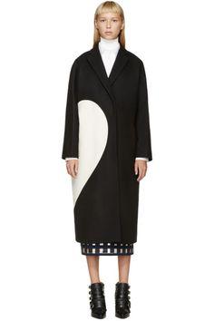 Cheap Light gray roll fur woolen long-sleeve medium-long autumn ...