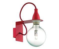 Nástěnné svtidlo Bulb Canno Nero světla Pinterest