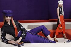 Anne Vyalitsyna, Magdalena Frackowiak, Iselin Steiro & More Enter the Labyrinth for Pradas Fall 2012 Campaign by Steven Meisel