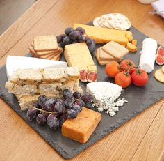 4 Natural Slate Serving Plates Tapas/canape Share Platter Cheese/meat Board Tray for sale online Marble Cheese Board, Slate Cheese Board, Cheese Boards, Serving Plates, Serving Dishes, Platter Board, Rib Meat, Charcuterie Platter, Cold Meals
