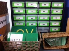 Organized Montessori - Montessori Green Material - objects, lists, cards, booklets