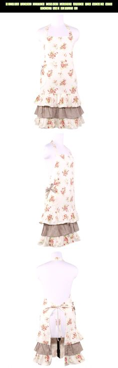 Neoviva Floral Cotton Canvas Garden Apron for Women with Pocket and Ruffles XL #camera #technology #for #pockets #gadgets #kit #women #products #gardening #fpv #apron #shopping #drone #tech #racing #with #parts #plans