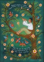 Zuzana Vaňousová - Painted Songs ÚĽUV - Center of Folk Art Production Contemporary Decorative Art, Heart Of Europe, Naive Art, Flower Art, Folk Art, Art Production, Hero, History, Country