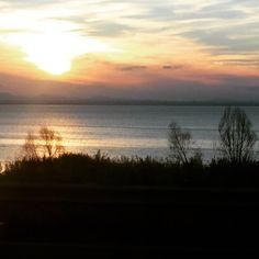 #tramonti #trasimeno #meraviglioso by fedeagnello