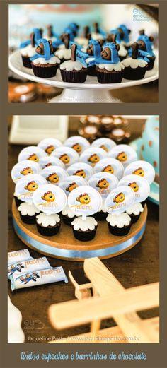 Urso Aviador_Cupcake