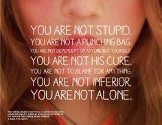 Teen Dating Abuse PSA by Nina Bishop, via Behance