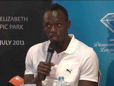 Usain Bolt Insists He's Clean Ahead of London Return - YouTube