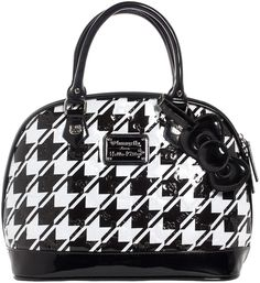 3910b92849ef Hello kitty houndstooth embossed bag. Hello Kitty Bag