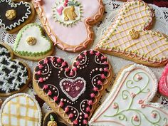 more beautifully decorated cookies!!