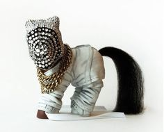 My Little Kanye West by Mari Kasurinen is a Dubious Tribute #rappers trendhunter.com