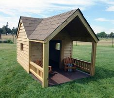 Dog House Designs With Porch And Shingle Roof house Top 60 Best Dog House Designs - Contemporary Modern Pet Pads Custom Dog Houses, Cool Dog Houses, Extra Large Dog House, Large Dogs, Large Dog House Plans, Outdoor Dog, Animal House, Dog Supplies, Home Design