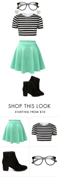 """""""Holy Halo 3"""" by ashyrosepetal on Polyvore featuring LE3NO, Topshop, Steve Madden and New Look"""