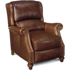 Bradington Young Bancroft Power Recliner Leg Color: New Classiques,  Nailhead Detail: French Natural, Body Fabric: Outsider Crimson 69669