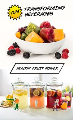 Transform your ordinary lemonade with these DIY fruit cubes that pack a powerful punch!