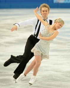 Nicholas Buckland and Penny Coomes - Short Dance - Sochi 2014