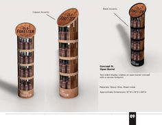 Old Forester POP Display by Brad Baker at Coroflot.com