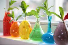 Rainbow colours...