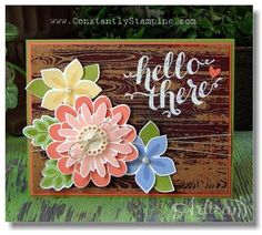 Linda's Easy Stampin': Flower Patch