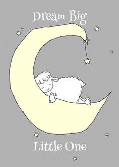 Custom Set for Jessica, Lamb Nursery Art Prints, Nursery Decor, Lamb Moon and Stars Art, Set Of 3  Print, Kids Wall Art