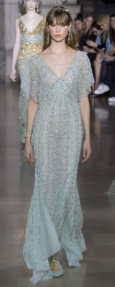 Georges Hobeika Spring-summer 2018 - Couture - http://www.orientpalms.com/Georges-Hobeika-7004 - ©ImaxTree