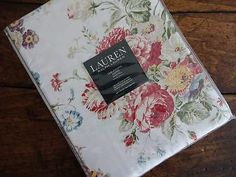 Tablecloths 20663: Ralph Lauren Antibes Cottage Floral Red Multi Cotton  Tablecloth Assorted Sizes  U003e
