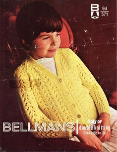 d90386b9eb06f vintage girls lacy cardigan knitting pattern pdf childrens raglan v neck  jacket 22-30