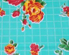 114 X 47.5 Rectangle Oilcloth Tablecloth By Notyourmamaskitchen | Batik  Vintage Oilcloth | Pinterest | Oilcloth
