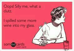 Silly me