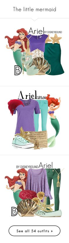"""""""The little mermaid"""" by awesome-antoinette ❤ liked on Polyvore featuring Forever New, Jil Sander, River Island, Quiz, women's clothing, women's fashion, women, female, woman and misses"""