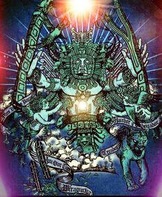 WIRACOCHA: el DIOS principal de la mitología andina.¿De origen EXTRATERRESTRE?