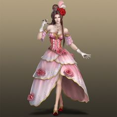 Dynasty Warriors - Belle Diao chan