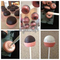 Sweet Bites: cupcake pops