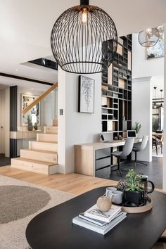 12 House Cleaning Tips That Will Save Both Your Time and Money Housiom # Bohemian House Decor Cleaning House Housiom Money Save Time Tips Living Room Designs, Living Room Decor, Living Spaces, Living Room Stairs, Living Room Lighting, House Cleaning Tips, Cleaning Hacks, Style At Home, Style Blog