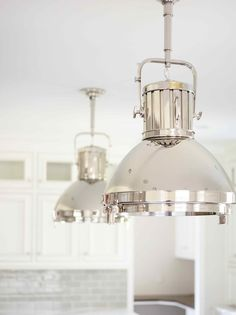 L. Kae Interiors - kitchens - Ralph Lauren Montauk XL Pendant, Montauk XL Pendant, kitchen island pendants, kitchen island lighting, Amazing