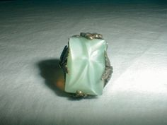 antique edwardian ring sz.6 ring foliate by qualityvintagejewels