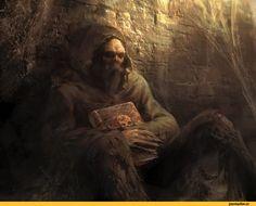 Manzanedo,Antonio José Manzanedo,Мрачные картинки,красивые картинки,art,арт,Fantasy,Fantasy art