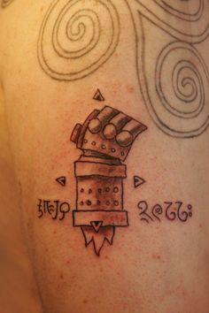 The Right Hand of Doom door djorll Left Arm Tattoos, Boy Tattoos, Body Art Tattoos, Hellboy Tattoo, Becoming A Tattoo Artist, Mike Mignola, Tattoo Designs, Tattoo Ideas, Compass Tattoo
