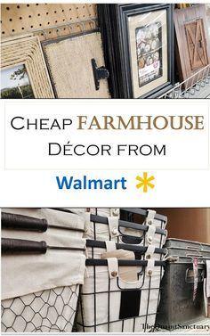 The Quaint Sanctuary: { Farmhouse Decor you Should Buy @ Walmart.. }