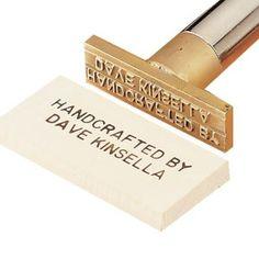 personalized wood branding iron