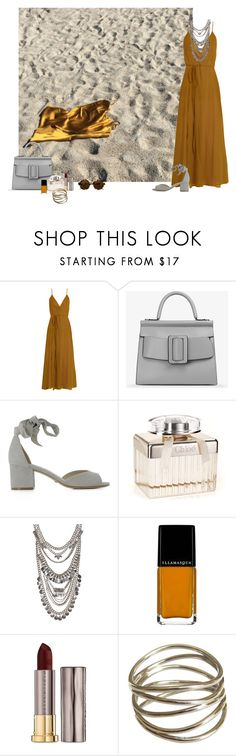 """Yellow & Grey contest"" by fufuun ❤ liked on Polyvore featuring Loup Charmant, Boyy, Schutz, Free People, BCBGMAXAZRIA, Urban Decay and Illesteva"