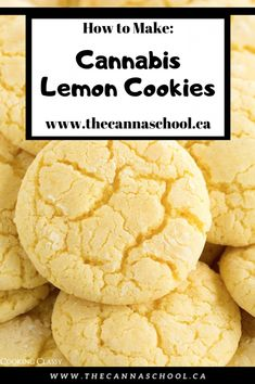 If you like lemon, you like cookies, and you like cannabis edibles, weed lemon cookies are the recipe for you! My new favourite edible recipe! Weed Recipes, Marijuana Recipes, Cannabis Edibles, Cooking With Marijuana, Weed Butter, Baking Recipes, Dessert Recipes, Lemon Cookies, Sweets