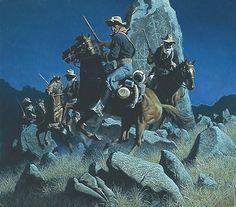 Ambush at Ancient Rocks-Frank McCarthy