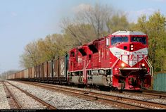 RailPictures.Net Photo: INRD 9011 Indiana Rail Road EMD SD9043MAC at Bridgeview, Illinois by Nick Hart