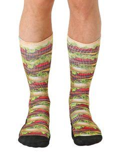 Stacked Hamburger Sport Socks Sport Socks, Hamburger, Sports, Products, Decor, Fashion, Hs Sports, Decorating, Moda