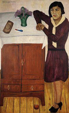 Portrait of Belem 1928 by Mara Izquierdo...