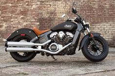 Indian Motorcycles 2015 Scout! Really cool!!! only thing i dont like it's engine is made by polaris