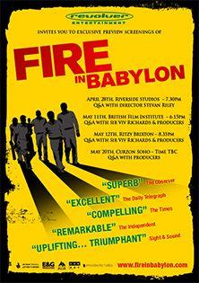 Fire in Babylon | Beamafilm | Stream Documentaries and Movies |