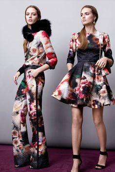 Elie Saab défilé pré-collection automne-hiver 2015-2016 #mode #fashion