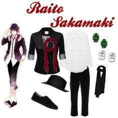 """Sakamaki Raito Inspired Outfit, Diabolik Lovers"" by phsycometorzi on Polyvore"