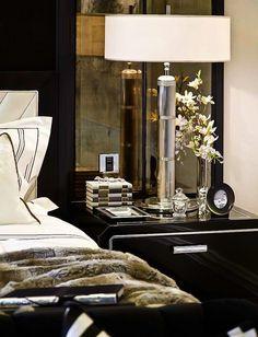 The Penthouse, Arlington Street | Longacre Tall Table Lamp | shop now: http://www.circalighting.com/details.aspx?pid=552